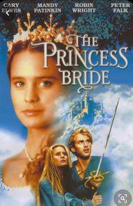 Original Princess Bride movie poster