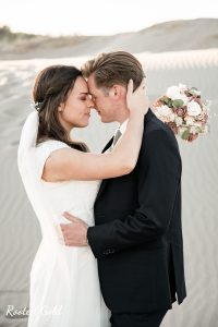 Bridal session in Sand Dunes