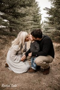 Family Photos with Pine Trees