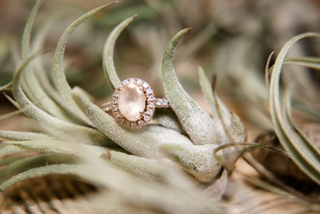 Macro photo of ring