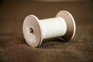 Macro photo of spool