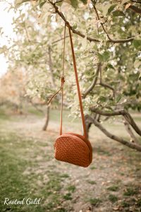 purse hanging in orchards