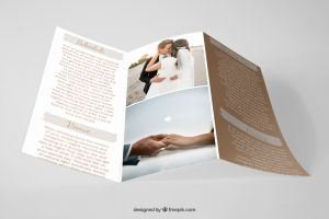 Brochure Mock up- Personal Style Project wedding guide